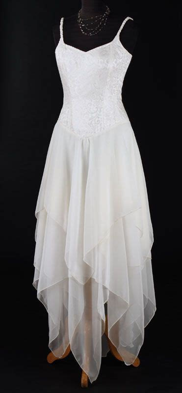 faery dress weddinghandfasting boho pixie style