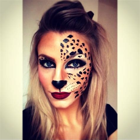 leopard make up 25 best ideas about leopard paint on animal makeup tiger costume