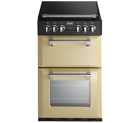 stoves dual fuel range cooker buy stoves richmond 550dfw dual fuel cooker chagne free delivery currys