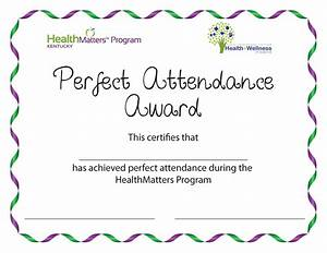 Perfect Attendance Certificate Template Perfect Attendance Flyer Search Results Calendar 2015