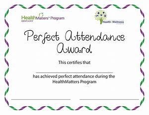 Perfect Attendance Certificate Template Perfect Attendance Flyer Search Results Calendar 2015