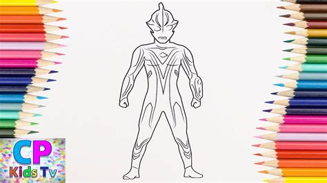 how to color ultraman mebius coloring pages for how to color