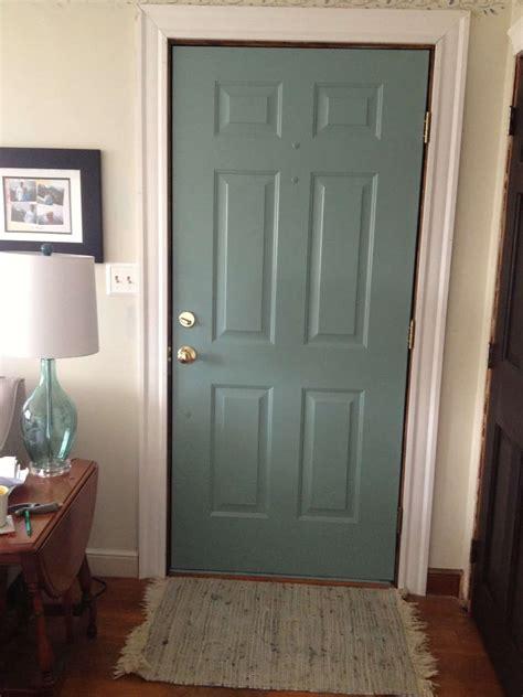 how to paint interior doors diy painted door in progress