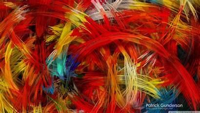 Colorful Painting Digital Abstract Wallpapers 4k Desktop