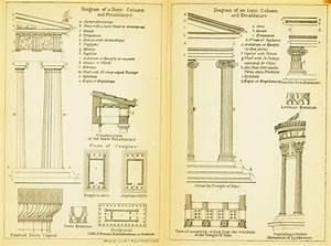 File Diagram Of A Doric Column And Entablature Diagram Of