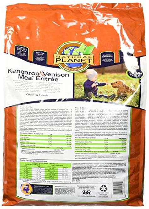 natural planet dog food kangaroo venison lb buy