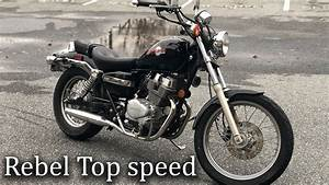 How Fast Can The Honda 250 Rebel Really Go