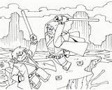Coloring Factory Hero Lego Popular sketch template
