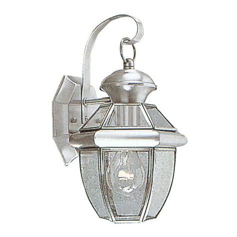 livex lighting monterey outdoor wall lantern in brushed