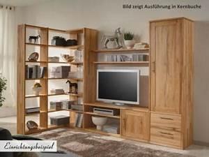 Wohnwand Kernbuche Massiv Günstig : wohnwand wildeiche massiv ge lt ~ Bigdaddyawards.com Haus und Dekorationen