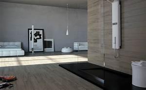 Parquet Salle De Bain : salle de bain parquet carrelage ~ Dailycaller-alerts.com Idées de Décoration