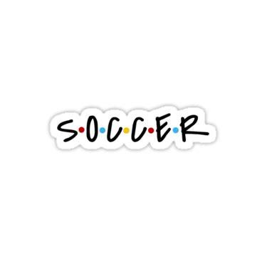 Soccer Sticker by Mhillelsohn | Preppy stickers, Soccer ...