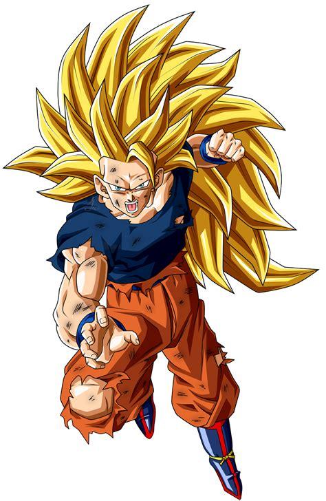 Goku Ssj Fase 3 Herido Dbs by jaredsongohan on DeviantArt