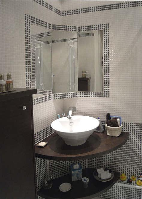 comment poser un plan de travail dans une cuisine meuble de salle de bain d angle avec vasque salle de