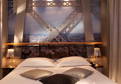 Chambre Tour Eiffel  Hotel Design Secret De Paris 75009