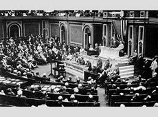 April 2, 1917 Woodrow Wilson Asks Congress for a