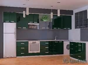 modern kitchen furniture sets kitchen sets modern 3d model 3d land