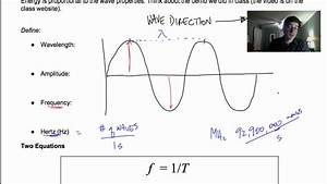 Calculating Wave Energy - YouTube