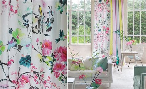 Buy Designers Guild Chinoiserie Flower Fabric Online