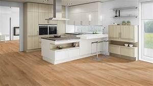 Cuisine Avec Parquet : parquet flottant dans une cuisine latest with parquet flottant dans une cuisine great ~ Melissatoandfro.com Idées de Décoration