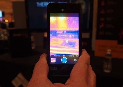 flir  case   iphone predator vision ces