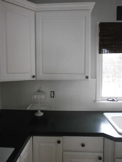 painting kitchen tile backsplash diy painting a ceramic tile backsplash
