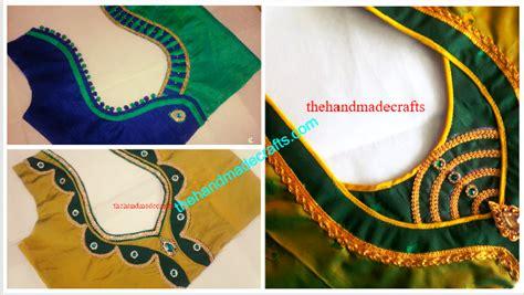 modal blouse neck designs cutting