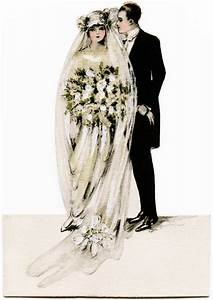Victorian Bride and Groom | Old Design Shop Blog