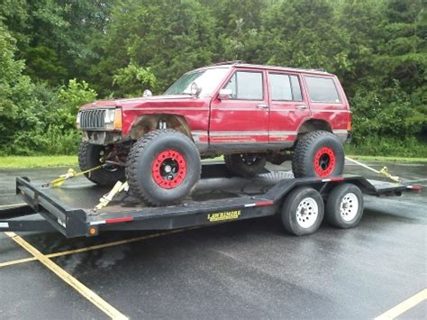 fs southeast xj crawler   ford  chromo jeep