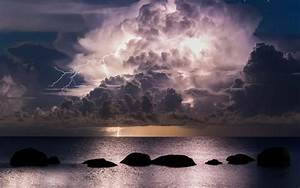 Storm Clouds over Ocean, HD Nature, 4k Wallpapers, Images ...