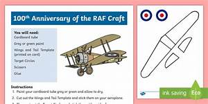 New   Ks1 100th Anniversary Of The Raf Craft Instructions