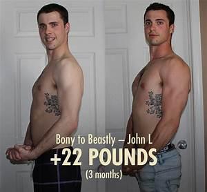 Bony To Beastly U2014ectomorph Bulking Transformations  Skinny To Muscular