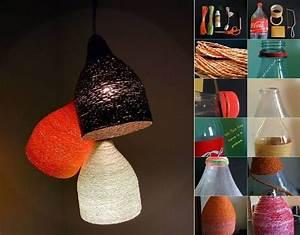 Mon Cabanon Creatif : diy designer paper yarn lamp like us on facebook https ~ Zukunftsfamilie.com Idées de Décoration