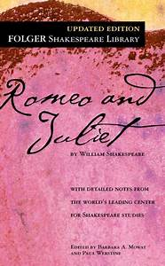 Romeo And Juliet Folger Shakespeare Library Series By