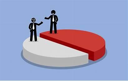 Profit Sharing Between Split Half Shared Shareholders