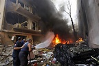 Beirut Bombing: Casualties Reported As Car Bomb Rocks ...