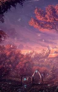 Fantasy Forest City  Hd 4k Wallpaper