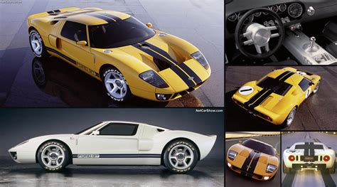Ford Gt Concepts by Ford Gt40 Concept 2002 Pictures Information Specs