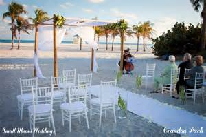 wedding venues in miami locations small miami weddings