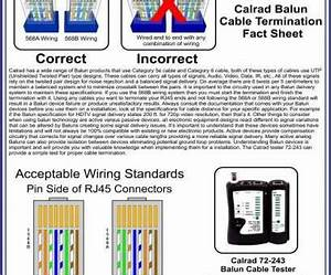 Cat6 Wiring Diagram Wall Plate