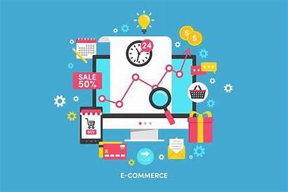 Commerce Illustration Illustrations Marketing Graphics Digital Market
