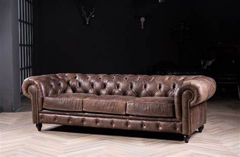 sofa vintage look chesterfield sofa classic sofa with vintage leather for antique style sofa genuine leather sofa