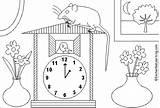 Dickory Rhymes Enchantedlearning Printout Dvě Omalovánky Nakonec sketch template
