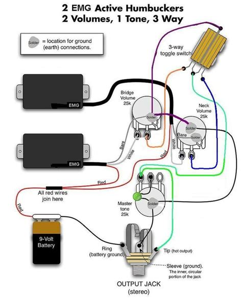 Emg 81 Solderles Wiring Diagram by Emg Wiring Diagrams Wiring Diagram Here