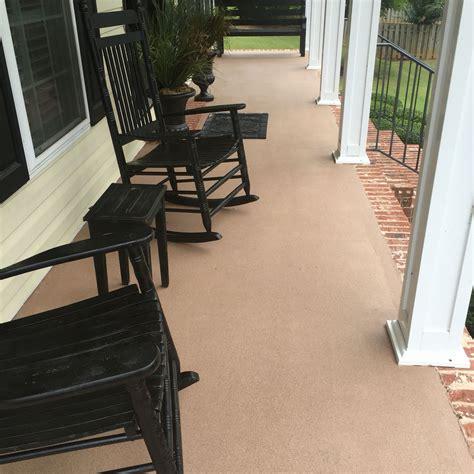 concrete patio after painted with behr granite grip paint tlms designs concrete patio patio
