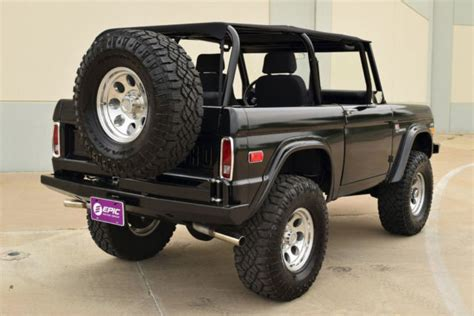 1970 Ford Bronco Sport 4x4, Newly Restored With Brand New