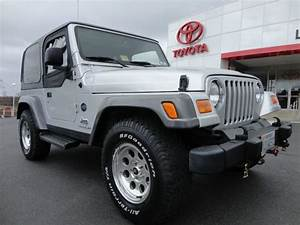 Find Used 2004 Wrangler 4 0l Rocky Mountain 5