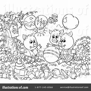 Three Little Pigs Black And White Clipart (39+)