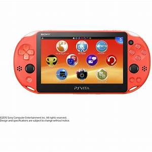 PS Vita PlayStation Vita New Slim Model PCH 2000 Neon
