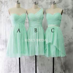 cheap mint green bridesmaid dresses mismatch mint green bridesmaid dresses chiffon bridesmaid dress wedding dresses